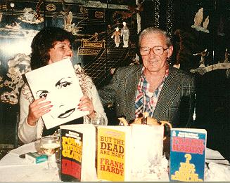 Hardy showing books
